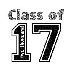SVG - Class of 17 - Digital Vector Download Great Graduation SVG set. 6 different fonts to choose from to make your project just right. Each font has its own design and all are together in this svg set. Perfect for Graduation Tshirts, Decor, cards and so much more.  More Graduation SVGs : http://etsy.me/2nwM701   This Design does not contain editable Text. All text sections are unioned as one piece for compatibility across software platforms.  This Listing includes: 1 SVG, 1 DX...