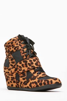 Bamboo Leopard Print Wedge Sneakers @ Cicihot Women Sneakers-Fashion Sneakers,Casual Sneakers,Wedge Sneakers,Platform Sneakers,Hidden Wedge Sneakers,High Top Sneakers,Lace Up Sneakers,Studded Sneakers,Buckle Sneakers