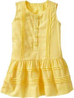 Old Navy   Pintucked Dobby Dresses for Toddler