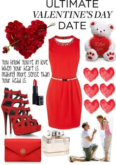 """valentines day!!"" by georgialevagueresse ❤ liked on Polyvore"