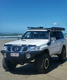 Best 4x4 Cars, Nissan Patrol Y61, Patrol Gr, Nissan 4x4, Nissan Infiniti, Car Vehicle, Land Cruiser, Rigs, Road Trip