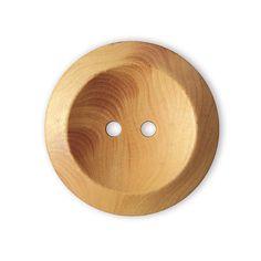 Wood Button Ulme