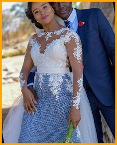African Print Wedding Dress, African Wedding Attire, African Attire, African Wear Dresses, Latest African Fashion Dresses, Seshoeshoe Dresses, South African Traditional Dresses, Sesotho Traditional Dresses, Traditional Wedding Attire