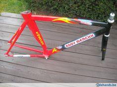 Eddy Merckx  Time Trial  , pistefietskader  ? maat 53