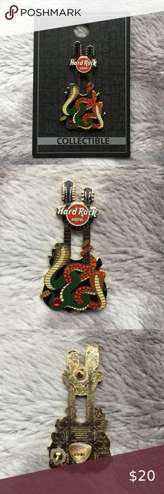 Hard Rock Cafe Pin Badge Las Vegas Lucky Dice 2001 Tattoo Series