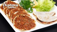 Hazır Yufkadan Fındık Lahmacun Tarifi Salsa, Alice, Food And Drink, Cooking, Ethnic Recipes, Recipies, Kitchen, Salsa Music, Brewing