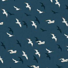 Ahoy Seagulls {dark blue}