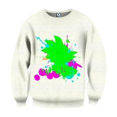 Dragon Ball Kid Goku Water Paint Relax Color Vibe Symbolic Sweatshirt  #DragonBall #KidGoku #WaterPaint #RelaxColorVibe #SymbolicSweatshirt