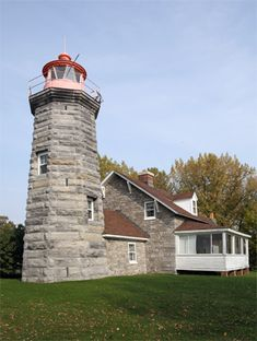 Windmill Point, VT ~ Smart, to attach it to the house.