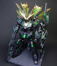 "Custom Build: PG 1/60 Banshee Norn ""Awakening Ver."" - Gundam Kits Collection News and Reviews"