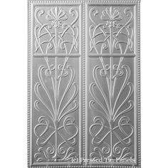 Pressed Metal Dado Wall Panel Wildflower - 900 x 1800mm