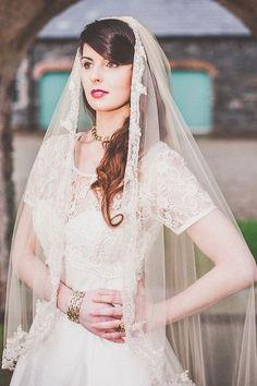 Vintage Wedding Veils | Decadence Vintage Bridal Fair, Visionary Veils, 3rd March 2013 - ...