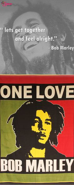 Trendy Bob Marley Tapestry for your room !