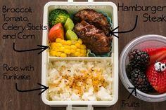 Hamburger Steak Bento | JustOneCookbook.com