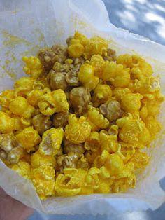 Amazing popcorn made fresh daily