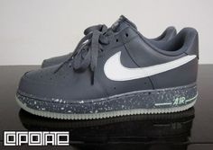 "Nike Air Force 1 Low ""Glow in the Dark"" dont even care abt them glowing but dang they a hot pair"