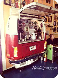 vw bus coffee corner
