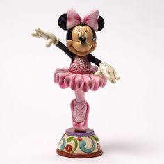Minnie Ballerina Figurie - Jim Shore Disney   Jim Shore Disney Traditions