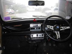 1978 Leyland Mini 1275 LS Dashboard and steering wheel