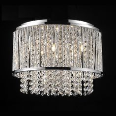 Shop Bethel International 6 Light Ys Series Crystal Flush Mount Ceiling Light At Lowe S Canada Find Our Selection Of Flush Mount Ceiling Lights At The