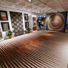 Surya showroom entrance at Atlanta Market @americasmartatl inspired by Surya's KUBA trend.