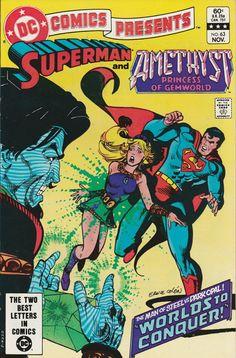 DC Comics Presents Vol. 6 No. 63  1983  Superman and Amethyst, Princess of Gemworld by TheSamAntics