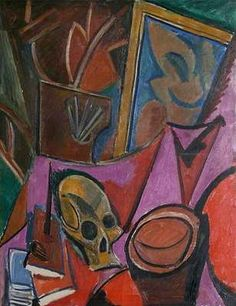 Nature morte à la tête de mort, par Pablo Picasso