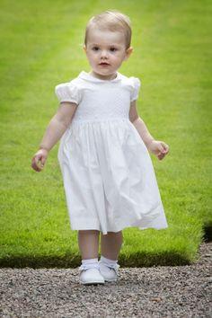 princesse Estelle à l'occasion des 36 ans de la princesse victoria sa mère le 14 juillet 2013.