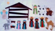 Nativity Felt Board Story Set