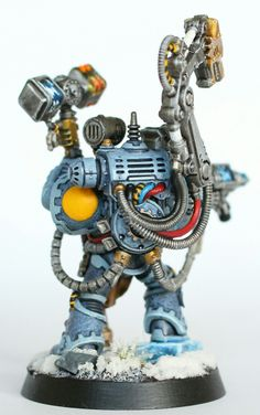 Iron Priest. Warhammer Space Wolves. Miniatures