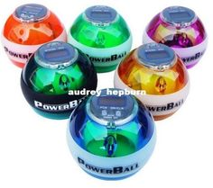 Wholesale New PowerBall Gyroscope LED Wrist Strengthener Ball SPEED METER Power Grip Ball Power Ball 5colors, $13.2/Piece   DHgate