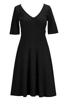 eShakti Women's Cotton knit curved waist dress XS-2 Short Black eShakti http://www.amazon.com/dp/B00KVEC0S0/ref=cm_sw_r_pi_dp_c5d0tb17C0Q98191