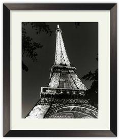 Eiffel Tower By Chris Bliss Art Print Poster Picture Framed Decor Eiffel Tower Art, Eiffel Tower At Night, Picture Frame Decor, Paris Art, Poster Prints, Art Prints, Poster Pictures, Art Moderne, My Escape