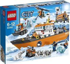 artic lego toys | LEGO Arctic Ice Breaker 60062 Box LEGO Summer 2014 Sets