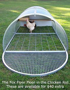 Hand Made 4x8 Rolling Chicken Coop / Chicken Tractor by Rocky Top ...