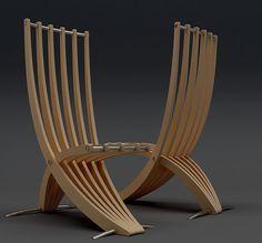 Sabre chairs by Velichko Veilikov