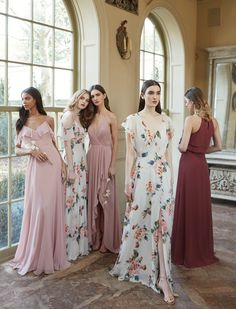 Wonderful Perfect Wedding Dress For The Bride Ideas. Ineffable Perfect Wedding Dress For The Bride Ideas. Spring Bridesmaid Dresses, Mismatched Bridesmaid Dresses, Wedding Bridesmaid Dresses, Best Wedding Dresses, Spring Dresses, Wedding Entourage Dress, Wedding Dress Chiffon, Perfect Wedding Dress, Wedding Skirt