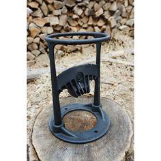 Kindling Cracker Firewood Kindling Splitter Eases The Pain Of Chopping Wood - Kindling Splitter, Log Splitter, Metal Projects, Welding Projects, Splitting Wood, Rocket Mass Heater, Wood Fired Oven, Camping Organization, Home Fireplace