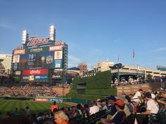 Sun setting on the scoreboard, its was a perfect afternoon for baseball