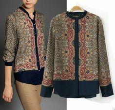Free shipping Women long sleeves printed cotton blouse Vintage shirt for women Branded design women elegant blouse $12.68
