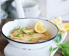 Przepis na smażony świeży ser z cytryną - Przystawka/przekąska - Apetyt