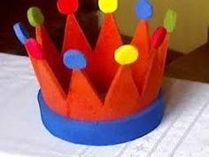 Resultado de imagen para imagenes de coronas de rey en goma ESPUMA