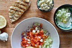 greek salad chicken salad