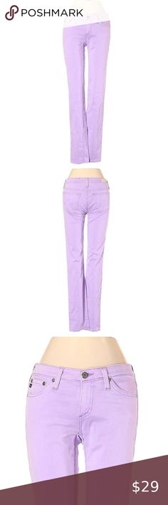 I just added this listing on Poshmark: AG Adriano Goldschmied Lilac Purple Skinny Jeans. Purple Skinny Jeans, Skinny Legs, Colored Denim, Jeans For Sale, Adriano Goldschmied, Lilac, Cotton, Shopping, Style