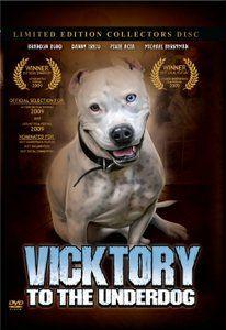 Give the gift of love! Vicktory To The Underdog , the award winning pitbull documentary by Brandon Bond! Www.strangleholdmerch.com