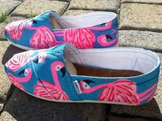 Lilly Pulitzer Inspired Toms ~ I would wear these regardless if they match myv outfit! !!
