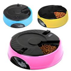 Find More Dog Feeding & Watering Supplies Information about 6 Meal LCD Digital Automatic Pet Dog Cat Feeder Recorder Bowl Meal Dispenser,High Quality feeder mice,China feeder Suppliers, Cheap feeder automatic from Fashion Sexy Life on Aliexpress.com