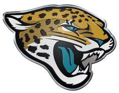 Jacksonville Jaguars Auto Emblem - Color
