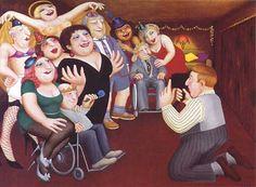 Beryl Cook ~ Xmas party