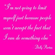 Just another reason why I love Dolly.